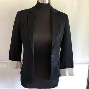 Wilfred by Aritzia Black Blazer Size: 2